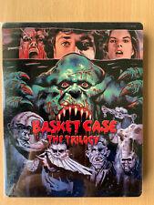 Basket Case Trilogy Blu-ray Cult Horror Classic Triple Bill Rare UK Steelbook