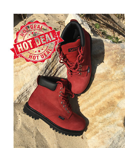 NEW Womens Safety Work Boots - Steel Cap - Lace Up 0495