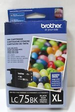 Brother LC75 BK XL Black Ink