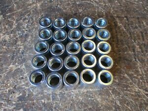 "25 PACK MANULI HYDRAULIC HOSE FITTINGS 2 PIECE FERRULE  1/2"" 25 PACK"