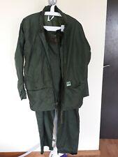 Helly Hansen Norway Waterproof Fisherman Hooded Rain Jacket + Trousers M Medium