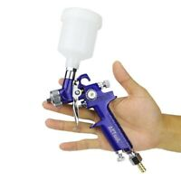 Spray Gun 0.8mm/1.0mm Nozzle H-2000 Professional HVLP Mini Air Paint Airbrush