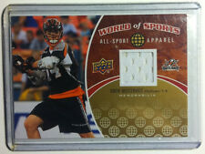 2010 Upper Deck World Of Sports Apparel Drew Westervelt Lacrosse