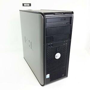 DELL OPTIPLEX 745 MINITOWER PENTIUM D 3.40 GHz 4 GB RAM 320GB HDD WIN 7 PRO W258