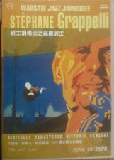 STEPHANE GRAPPELLI LIVE FROM WARSAW JAMBOREE '91 McCOY TYNER TDK JAZZ DVD New