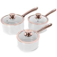 Batterie di pentole rose in ceramica