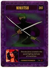 Ninjitsu #207 Marvel 2003 Genio TCG CCG Card (C314)