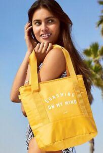 Victoria's Secret PINK COOLER Bag 🌞 Sunshine On My Mind Insulated Tote + Bonus!
