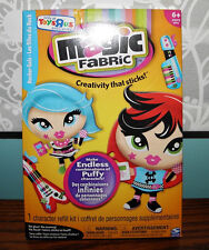 Magic Fabric Refill Activity Kit Rocker Gals Dolls NEW Crafts Thermal Fabric