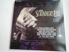 SCHINDLER'S List Buzón Laserdisc Ntsc 2 Discos Liam Neeson