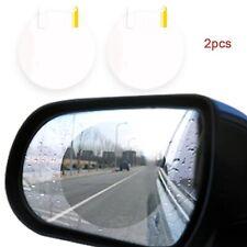 Magic Mirror Anti-Fog Shield Rainproof Car Rearview Mirror Sticker 2Pcs Round