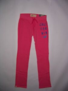 Hollister by Abercrombie HCO Women's Pink Skinny Sweatpants Various Sizes NWT
