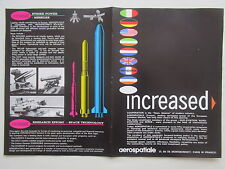9/1970 PUB AEROSPATIALE CONCORDE AIRBUS GAZELLE PUMA MISSILE LYNX ORIGINAL AD