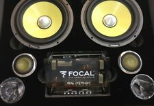 Made In France Focal ES165KX2 HI-END K2P Component 6.5 FREE WORLDWIDE SHIPPING!
