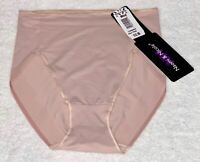NAOMI NICOLE Waistline Firm Control Vintage Pink Shaping Brief Womens S M L XL