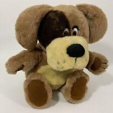 "1984 R Dakin Woofer Dog Brown Vintage Stuffed Animal Plush 12"" High No. 34-0022"