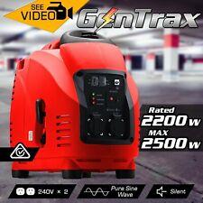 GenTrax 2500W Single Phase Petrol Inverter Generator