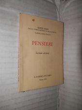 PENSIERI Edith Stein Beata Teresa Benedetta della Croce Carmelitana Scalza 1991