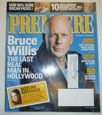 Premiere Magazine Bruce Willis & George Clooney April 2003 031015R