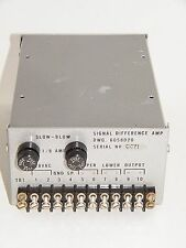 SIGNAL DIFFERENCE AMP, DWG 6058020, SERIAL NO. OC71, UNTESTED, GREAT SHAPE