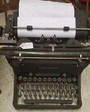 Antique Vintage Underwood Champion Typewriter 1945s USA Black S11-5858992