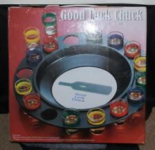 Roulette DRINKING GAME 16 shot glass SPIN THE BOTTLE  Good Luck Chuck Game NIB
