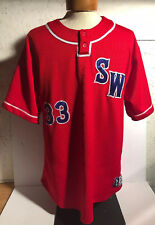 Garbathletics Southwest Baseball Jersey South West Sw Size Axl Xl #33 Red Blue