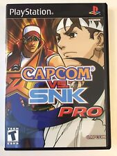 Capcom vs SNK Pro - Playstation - Replacement Case - No Game