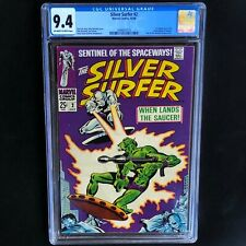 SILVER SURFER #2 (1968) 💥 CGC 9.4 💥 1st App of the Brotherhood of Badoon!