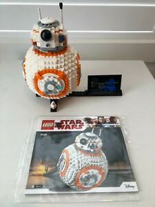 LEGO Star Wars BB-8 - 75187- Complete with Instructions