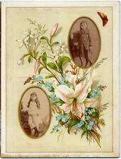 Palermo Due deliziosi ritratti di bimbe Foto originali Interguglielmi 1890c L829