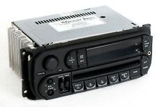 Dodge Jeep Chrysler 02-07 Radio AMFM CD Player w Aux Input - RBK Slider Version