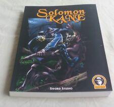 Salomón Kane Sword Studio Robert E. Howard. VI JORNADAS DE COMIC DE VELEZ-MALAGA