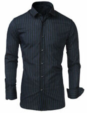 Unbranded Striped Regular Size Casual Shirts for Men