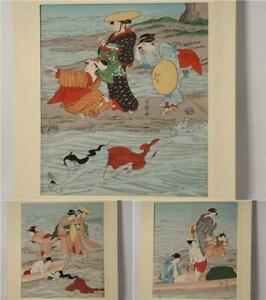 Japanese picture woodblock print Kitagawa Utamaro ukiyoe ASO116