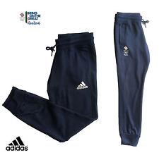 "ADIDAS TEAM GB  2016 OLYMPICS ATHLETE RIO CONDIVO CUFF LEG SWEAT PANTS Size 36"""