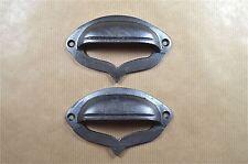 Un paio di ghisa Gotico Cassetto Tirare Maniglia Per Mobili Armadio Tirare alr21
