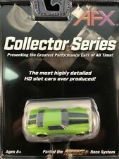 AFX MEGA G PLUS CHEVY CAMARO RS350 GREEN TOMY AURORA  COLLECTOR SERIES