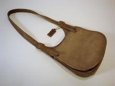 Vintage 1960's Classic COACH BONNIE CASHIN Putty Taupe Saddle Shoulder Bag