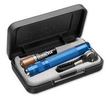 Mag-Lite LED Solitaire Taschenlampe bis zu 37 Lumen, 8cm, blau im Etui