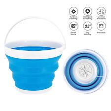 USB Portable Washing Machine Mini Folding Ultrasonic Tub Turbine Laundry Washer