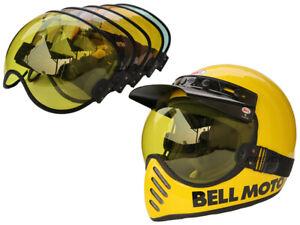 Handmade Bubble Shield Visor For BELL MOTO 3 Helmet - ONLY SELL VISOR