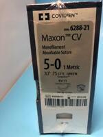 COVIDIEN MAXON CV -  MONOFILAMENT ABSORBABLE SUTURE - REF  6288-21 (X)