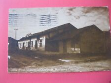monterey ca postcard first theatre in california dated 1912