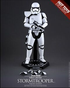 Sideshow Star Wars - First Order Stormtroopers Squad Leader - New In Box