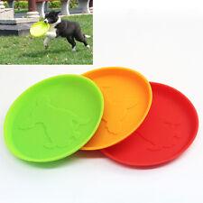 1PC Hund Frisbee Flying Disc Außen Haustier Hundetrainings Holen Spielzeug Pro