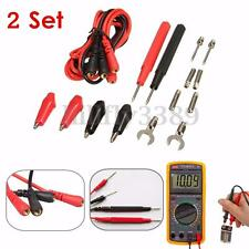 2set Universal Test Lead Probe Cable for Digital Multimeter CAT III 1000V 20A