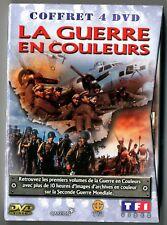 COFFRET 4 DVD ★ LA GUERRE EN COULEURS ★ TF1 VIDEO