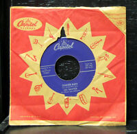 "Les Baxter - Sinner Man / Tango Of The Drums VG+ 7"" Exotica 1956 Capitol F3404"