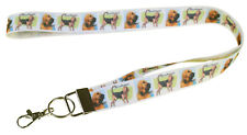 More details for bloodhound breed of dog lanyard key card holder perfect gift